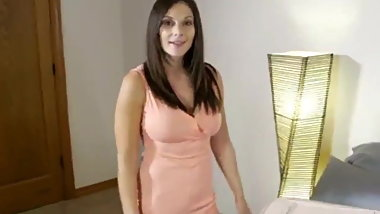 naughty divorced milf shares bed with her new roommate