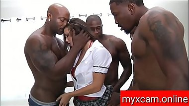 Hot Sexy Pornstar Fucking By Three Man Full HD