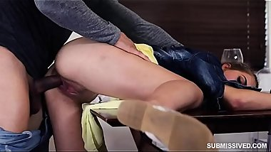 Latina Teen Sofie Reyez Mouth Gagged And Forced To Suck And Fuck