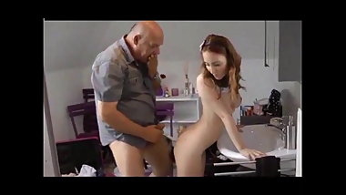 Dad fucks cute submissive 18 year old