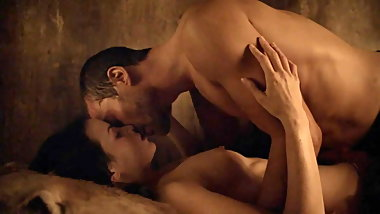 Katrina Law Nude Sex Scene in Spartacus On ScandalPlanet.Com