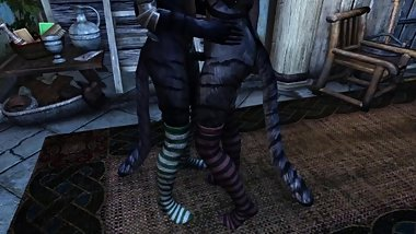 [Skyrim Special Edition] Feat. Kat Byte Thigh-high socks