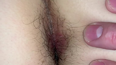 Wife Hairy Ass Play