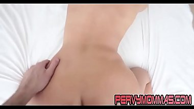 Horny milf pov riding cock and getting facial while masturbating