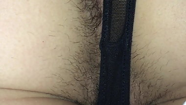 Girlfriends hairy asshole