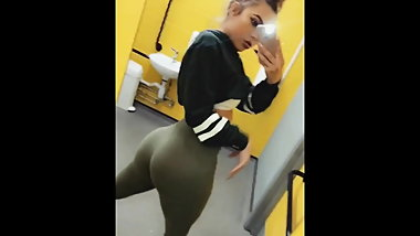 Blonde Teen Chav with Huge Ass Compilation!