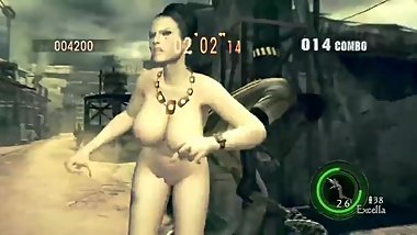 RE5 Excella Gionne Nude MOD big tits