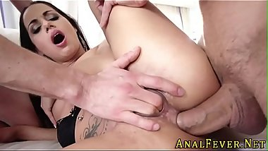 Whore gets anally fucked