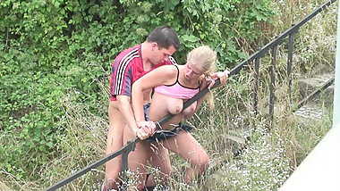 Outdoors sex