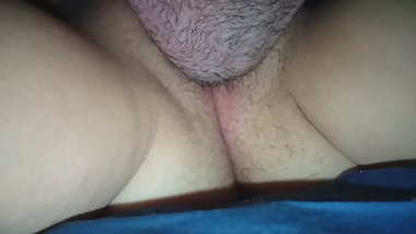 Chubby hairy pussy licking