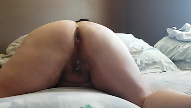 Sexy BBW Asshole getting Cum (Preview)