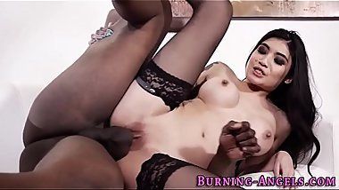 Gothic asian ho fucked