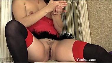 Yanks Ayelisa'_s Big Long Orgasm