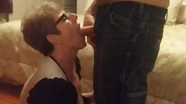 Cocksucking Gilf in Glasses