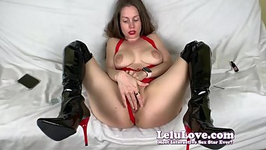 Lelu Love-POV Sex Latex Leather Boots Lingerie