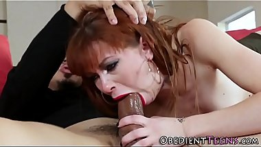 Teen sub anally fucked