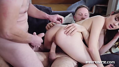 Private.com - Teen Luna Rival Double Fucked By 2 Cocks!