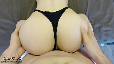 YOUNG AMATEUR BABE GETS HER ASS FUCKED - 4k POV