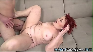 Banging and sucking gran