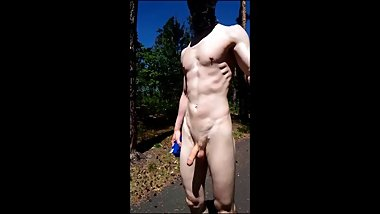 TEEN BOY WALK NUDE ON PUBLIC, BIG DICK, PUBLIC NUDITY, CZECH BOYS FHD