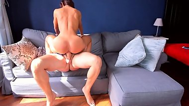Hot young pussy - great sex and swallow
