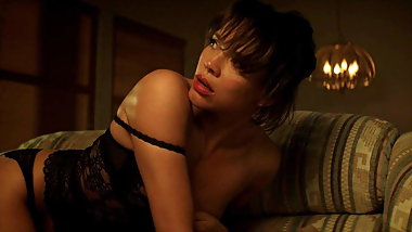 Carmen Ejogo Hot Lingerie Scene On ScandalPlanet.Com