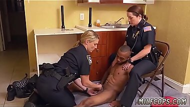 Sexy milf hd Black Male squatting in home gets our mummy officers