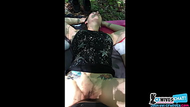 Outdoor sex with my wife