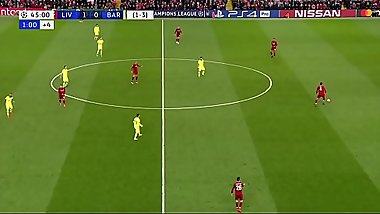 Liverpool arrombando o Barcelona - 07-05-2019 - HD