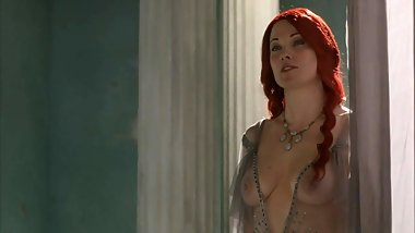 Lucy Lawless Naked Sex from Spartacus On ScandalPlanet.Com