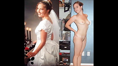 dressed undressed Brides Slideshow