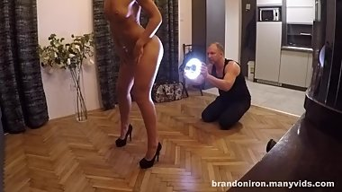 SPYCAM - BTS - DANCING WITH THE PORN STARS: LARA WEST