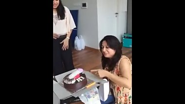 Desi slut girls celebrating birthday