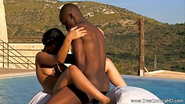 Black Couple Experiment With Sex