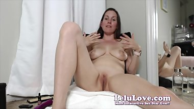 Lelu Love-WEBCAM: Bras Panties BTS Dildo Vibrator Masturbation
