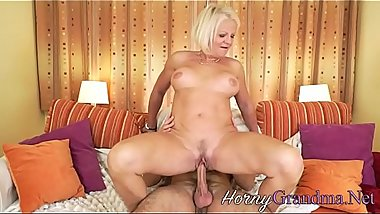 Cock sucking granny drips